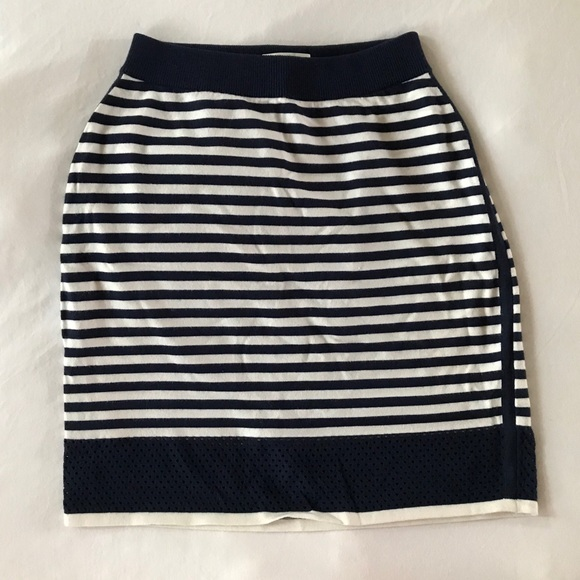rag & bone Dresses & Skirts - Rag & Bone Knit Skirt in Nautical Stripes